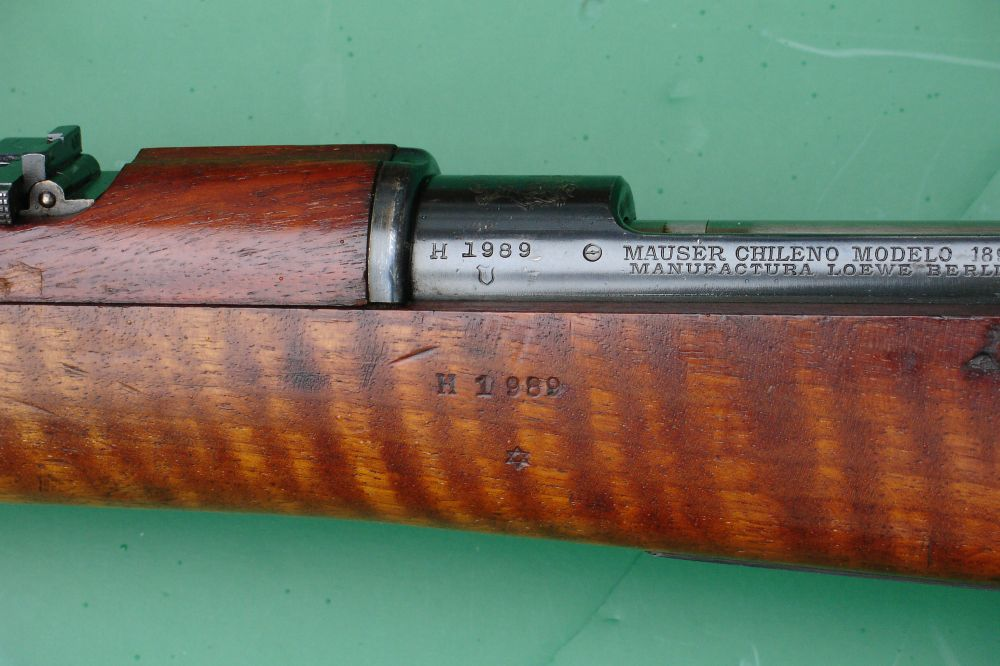 Model Of 1895 Chilean Mauser Infantry Rifle