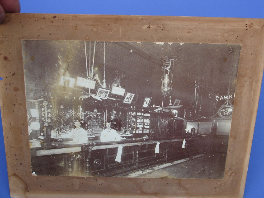 Antique Arms Inc Circa 1910 Framed Photograph Of Old