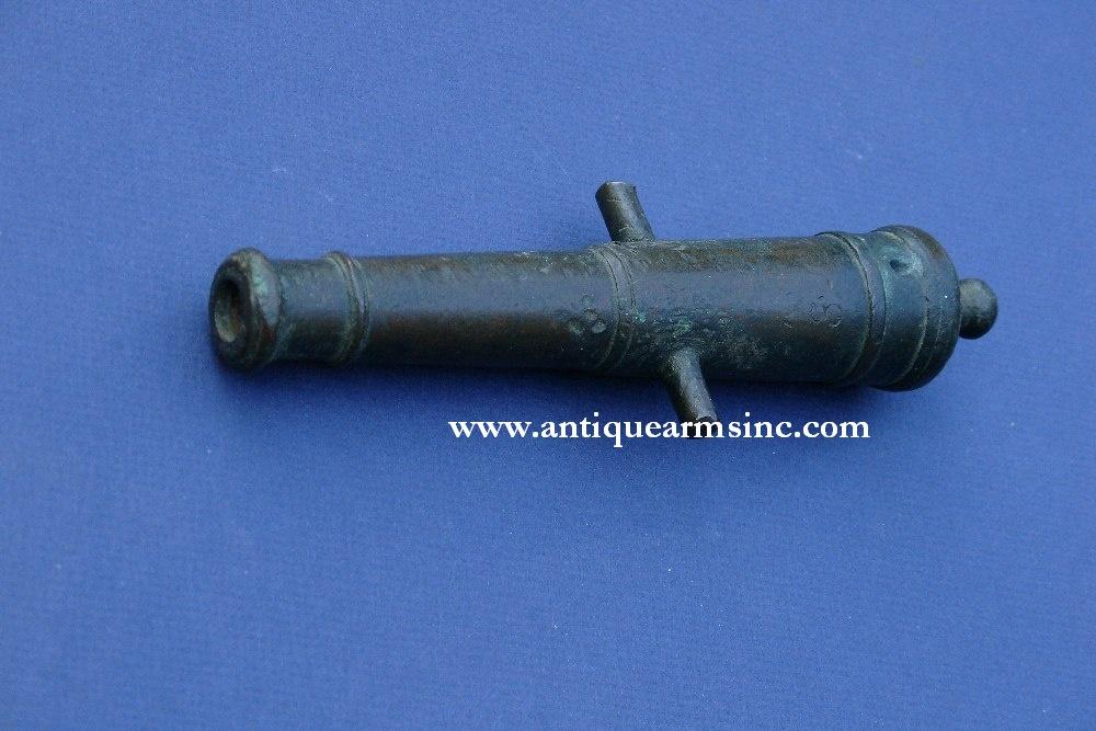 Antique Arms Inc 18th Century Bronze Signal Cannon