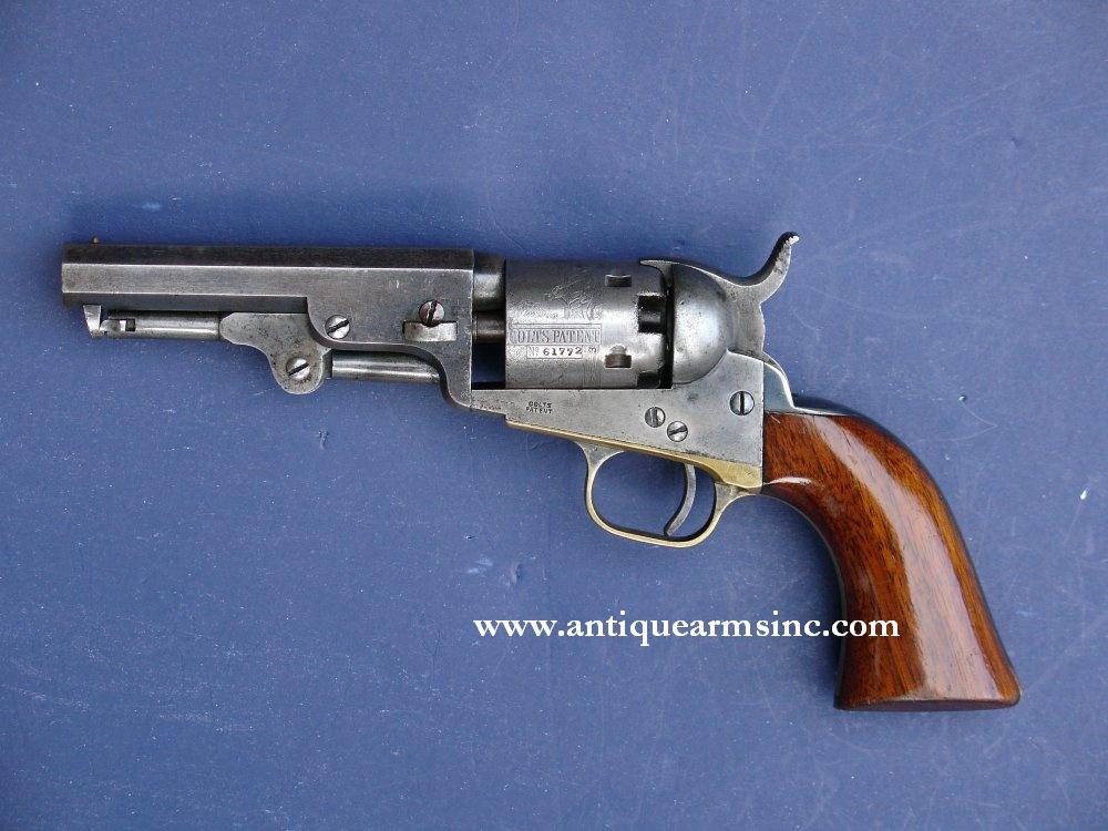 Antique Arms Inc Colt 1849 Pocket Revolver Mfd In 1853