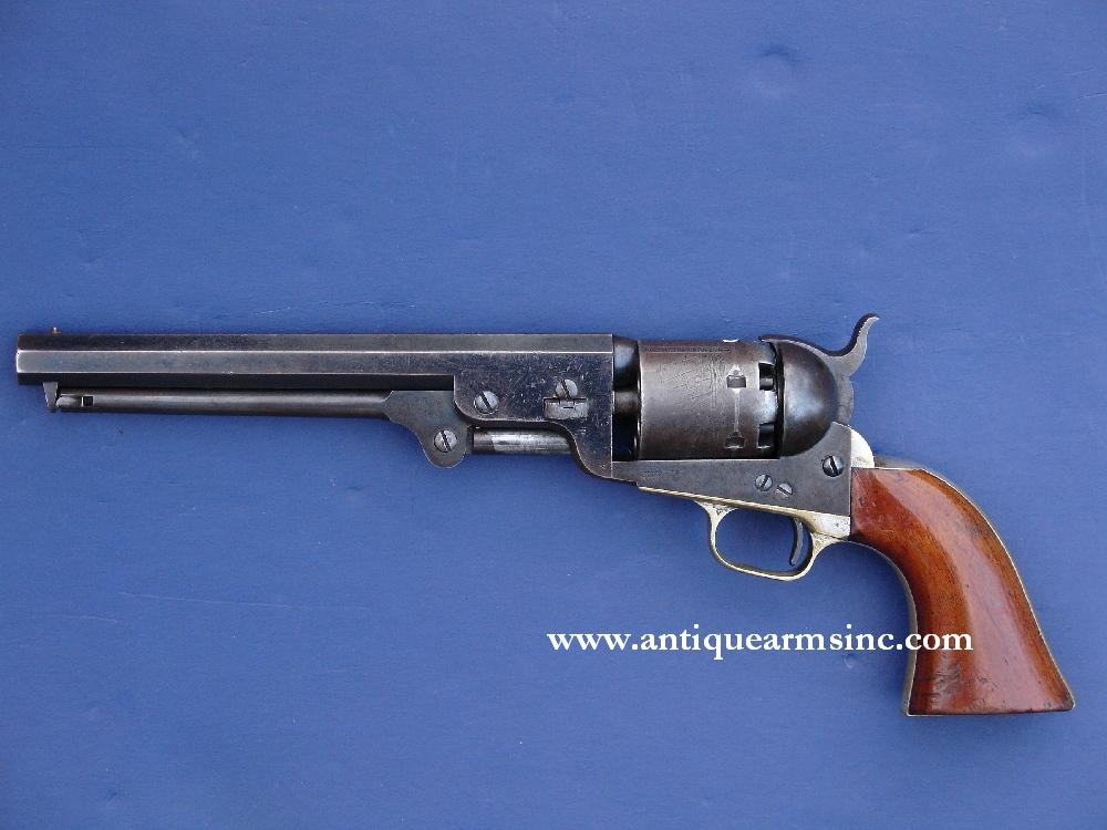 colt-1851-navy-revolver-3rd-model-antique-guns-for-sale-1849-1860
