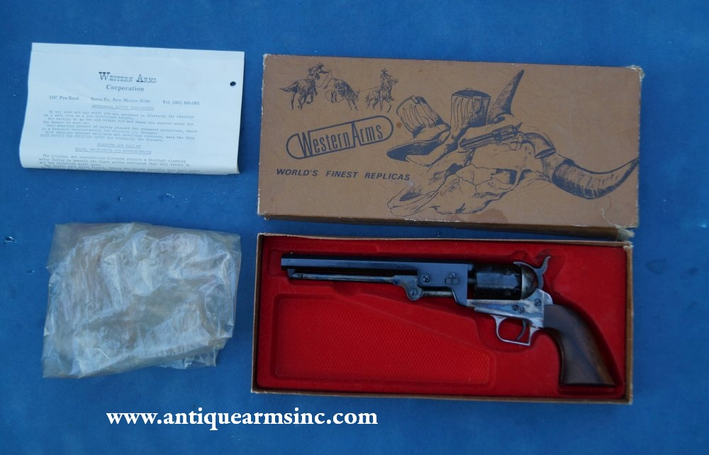Antique Arms, Inc  - Colt 1851 Navy by Western Arms Corp