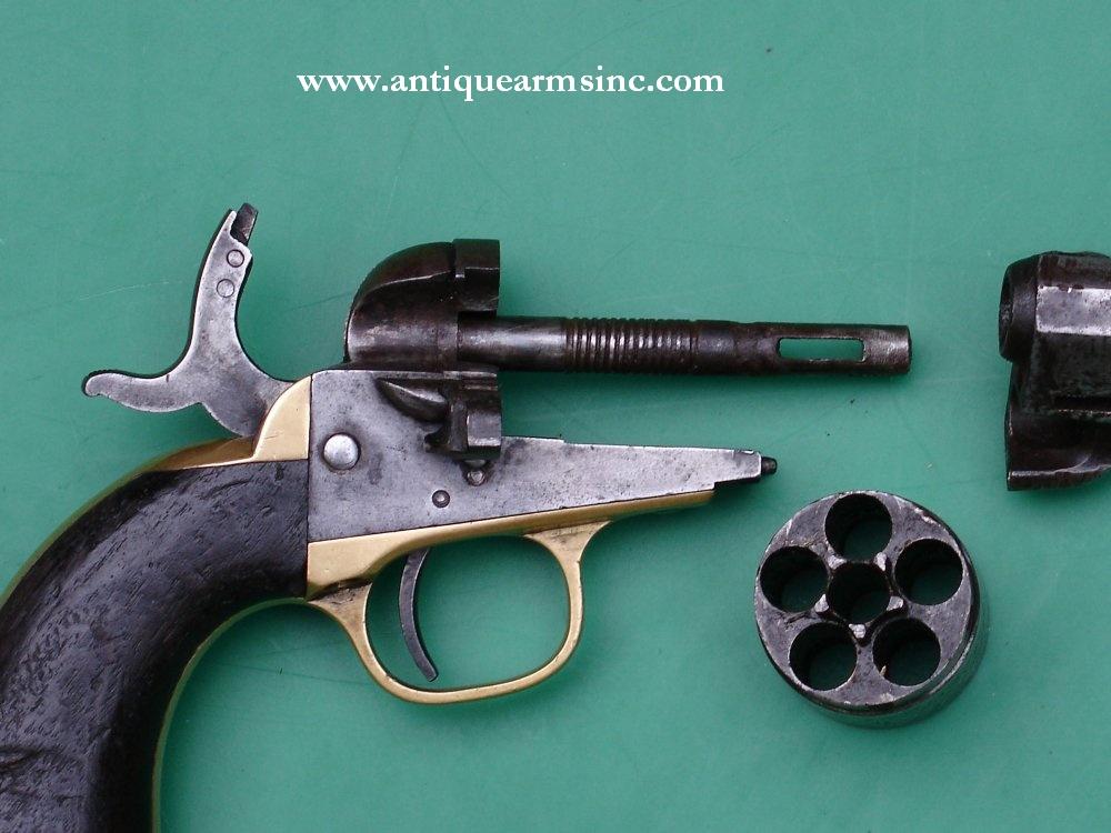 antique arms inc colt 1862 pocket navy conversion revolver