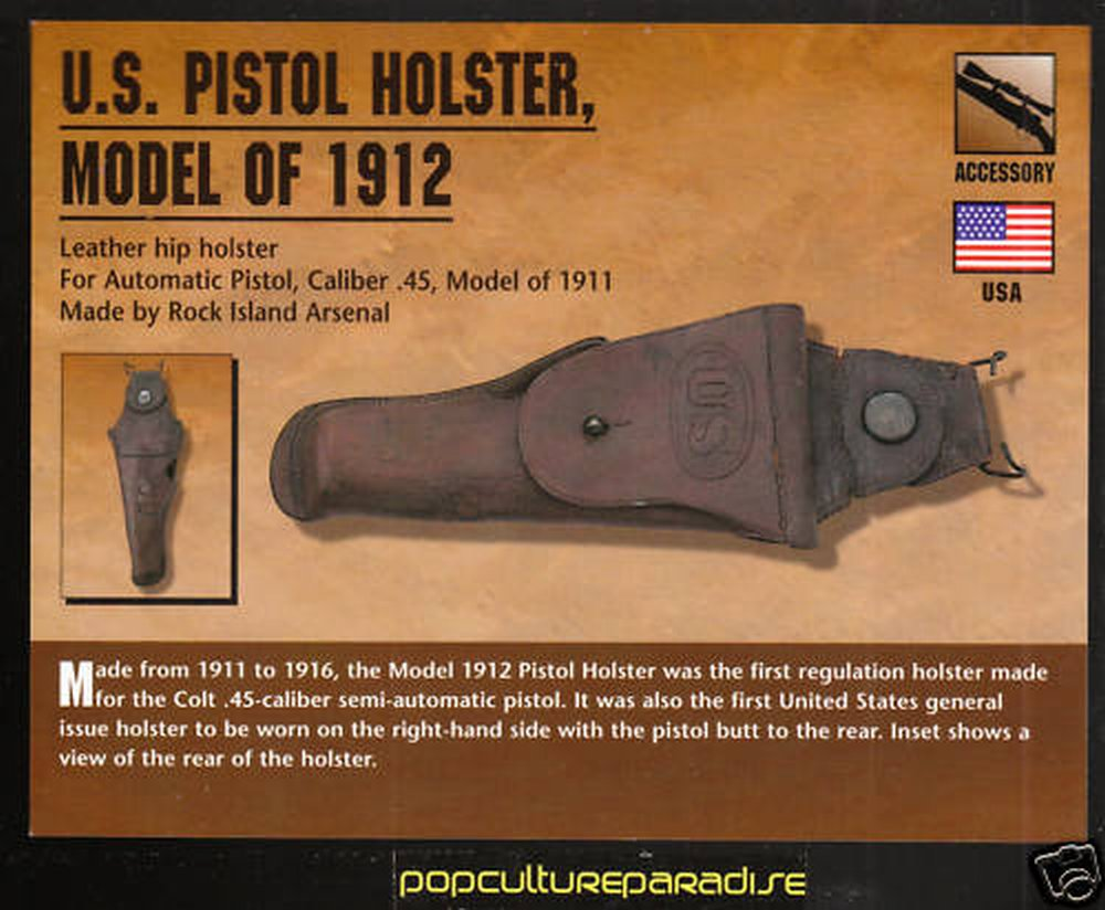 Antique Arms, Inc  - US Model 1912 Holster for Colt 1911