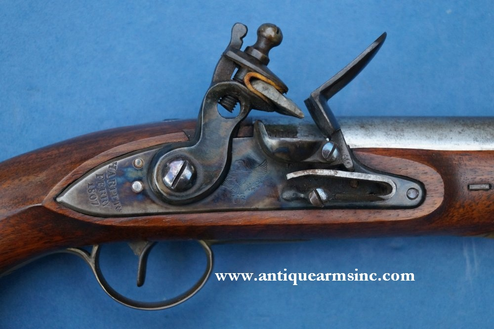 Antique Arms, Inc  - Harpers Ferry 1805 Flintlock --FAUL