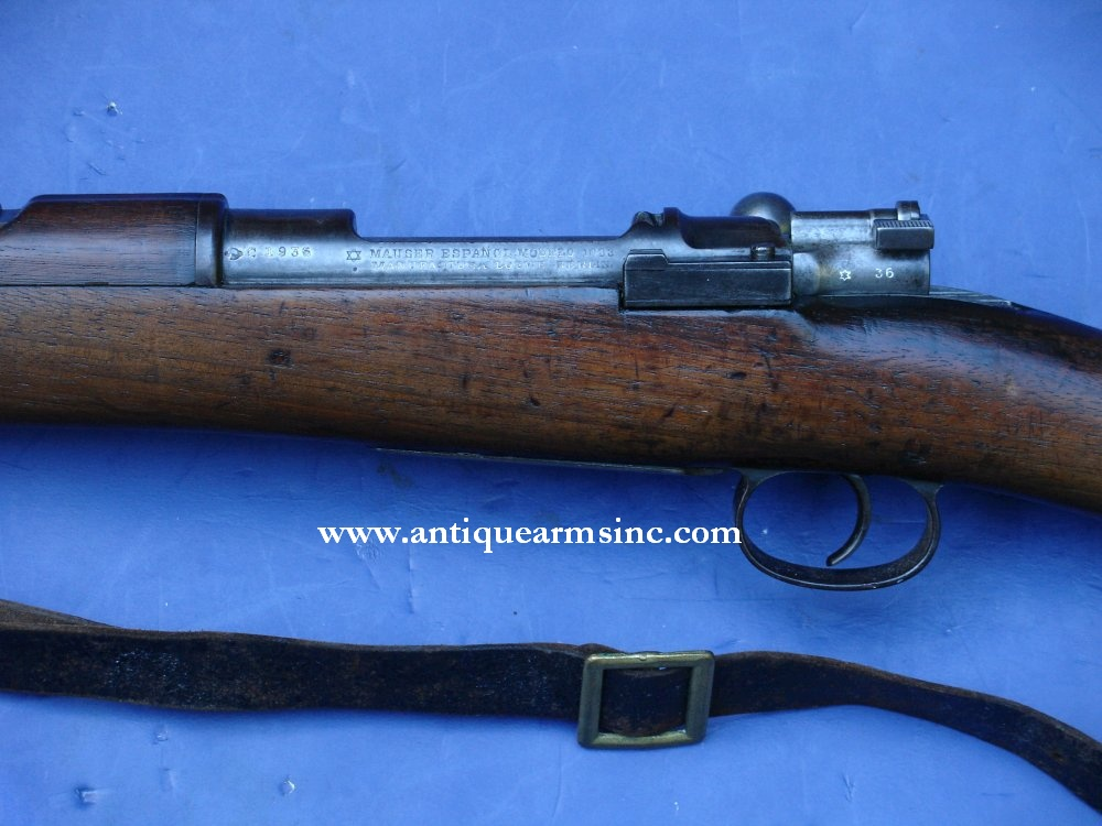 Antique Arms, Inc  - Spanish Model 1893 Rifle Captured in Span-Am War