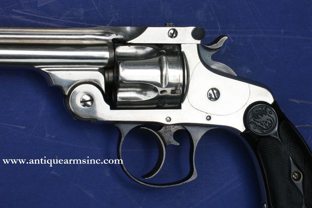 Antique Arms, Inc  - Smith and Wesson 1880's 38 DA Pocket