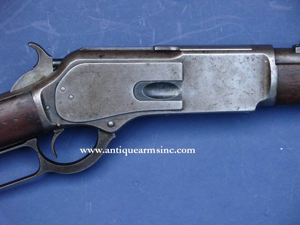 Antique Arms, Inc  - Winchester 1876 NWMP Saddle Ring Carbine
